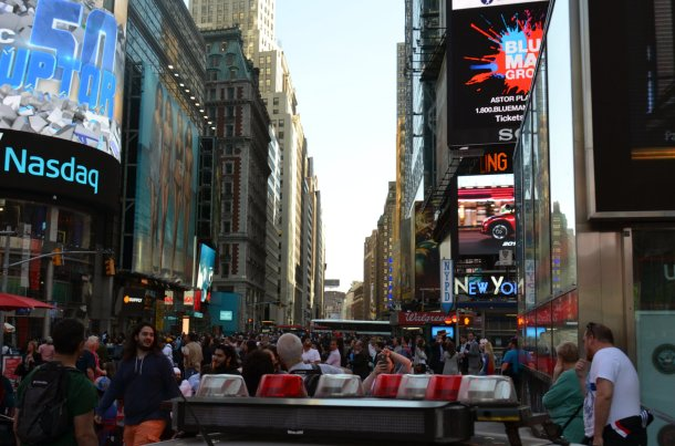 Times Square - I can't imagine how much busier it could be at New Year's