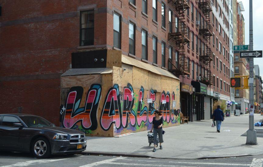 Near Harlem's edge
