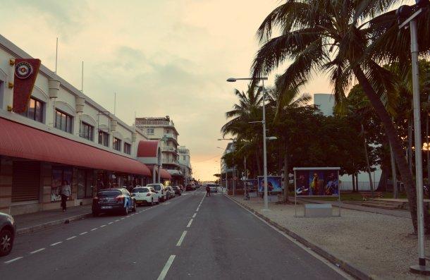 Sunset strolling. The beach is never far away.