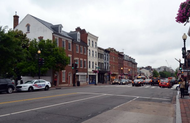 The streets of Georgetown