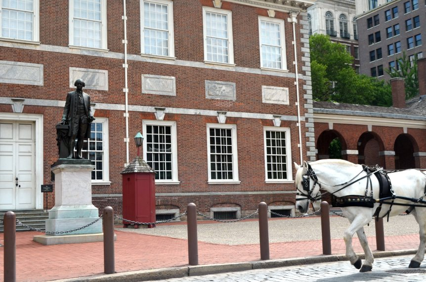 Independence Hall: Where the United States Declaration of Independence and the United States Constitution were debated and adopted